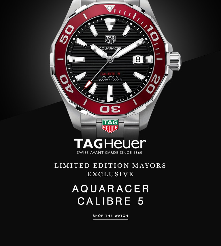TAG Heuer Limited Edition Mayors Exclusive